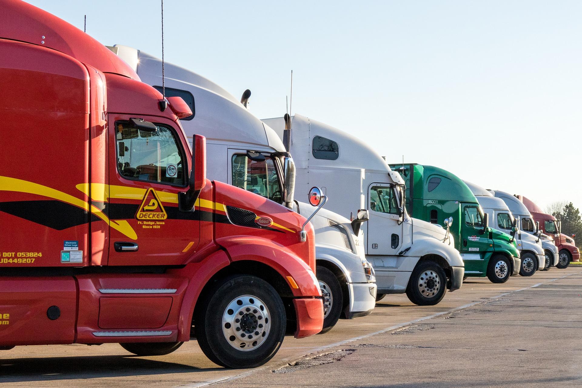 Many trucks-1